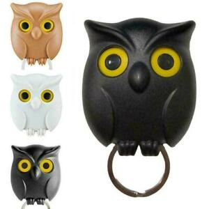 Night Owl Magnetic Wall Key Holder Keychains Hook Hanging Y Open It Will K3N4