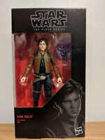 "Star Wars Black Series - Red Wave - #62 Han Solo 6"" Figure - New"