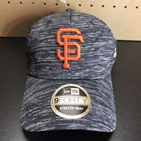 New Era 9Forty San Francisco Giants Hat Cap Stretch Snapback Tech Gray NEW