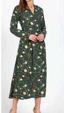 M&S AUTOGRAPH Long Sleeved, Ginkgo Leaf Print, A-Line Dress, Size 18, BNWT