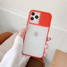 Para iPhone 12 Pro Max 11 XR XS X 8 Funda protectora lente de cámara deslizante