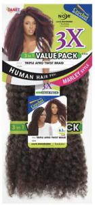 Janet Collection Noir 3X TRIPLE  AFRO TWIST BRAID (Value Pack)