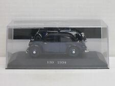 Mercedes-Benz 130 in Black/Blue, no OVP + Cabinet, IXO/DE AGOSTINI, 1:43