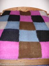 Couverture de jour couverture couverture couverture mohair handgestrickt patchwork env. 225 x 240