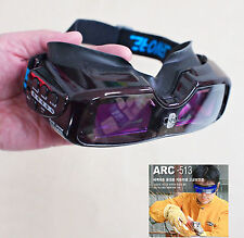 New HQ WORLD FIRST SERVORE ARC-513 Auto Darkening Welding GOGGLE Shade #5-13