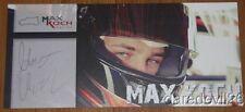 2014 Max Koch signiert PZ Wintercup Postkarte