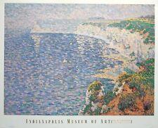 Falaises à Etretat-Claude-Emile schuffenecker imprimer, 71x86cm, Wall Art Poster