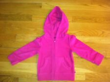 BABY GAP GIRLS PINK MULBERRY FLEECE HOODIE ORG. $24.50 SIZE 2 BNWT