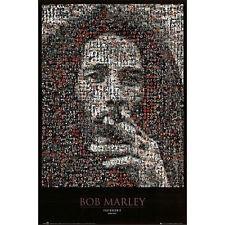 BOB MARLEY - PHOTOMOSAIC I POSTER - 24x36 SHRINK WRAPPED - COLLAGE MUSIC 2508