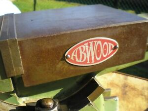 ABWOOD UNIVERSAL MACHINE VICE 6 INCH MODEL ENGINEERS TOOLING MILLING MACHINE