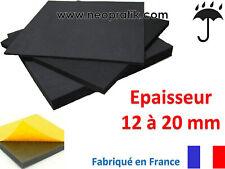 Mousse adhésive selle et siege pour motos en EPDM étanche (de 12 à 20 mm)