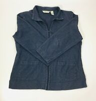 Orvis Men's Outdoor Lightweight Jacket, Jean Blue, Size Large, Full Zip
