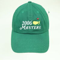 Masters Golf Hat Cap Augusta National 2006 NWT New Strap back Green Embroidered