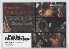 2013 Press Pass Parks and Recreation Seasons 1-4 #38 Camping Non-Sports Card 2a1