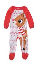 Rudolph The Red Nosed Reindeer Blanket Sleeper Size 18 Months New with Tags