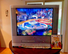 Toshiba 24� Tv/Dvd/Vcr Combo No Remote Model Mw24Fn1 Tested- Experienced Shipper
