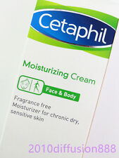New Cetaphil Moisturizing Cream for Sensitive Dry Skin Care 100g Fragrance Free