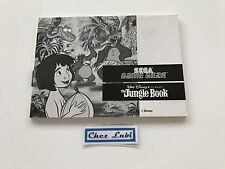 Notice - Le Livre De La Jungle (The Jungle Book) - Sega Game Gear - PAL EUR
