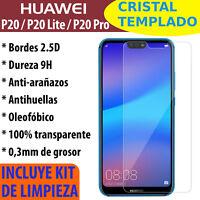 CRISTAL TEMPLADO PROTECTOR DE PANTALLA PARA HUAWEI P20 / P20 LITE / P20 PRO