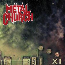 METAL CHURCH - XI - 2LP BLACK VINYL NEW SEALED 2016