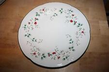 "Pfaltzgraff Winterberry Dinner Plate 10 1/4"" Mint Condition!"