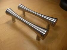 Set of 2 Hardware Resources Sedona 400SN Cabinet Pulls w. Hardware Satin Nickel