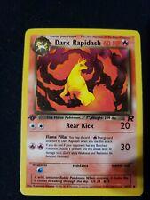 1st Edition Dark Rapidash 44/82