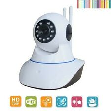 CAMARA DE SEGURIDAD CCTV IP ONVIF WIFI INALAMBRICO REMOTO MOVIL PARA INTERIOR
