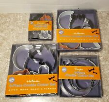 Halloween Assorted Cookie Cutter Sets Lot of 4 Wilton