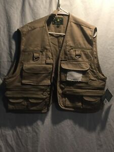 Mens XL  UTILITY Vest FISHING CAMPING HUNTING OUTDOOR New