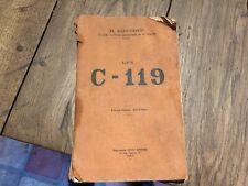 R ALINDRET les C 119 deuxieme edition vers 1920 (poste radio tsf  )