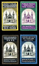 Netherlands Poster Stamps - Public Tourist Office - The Hague - Set of 4