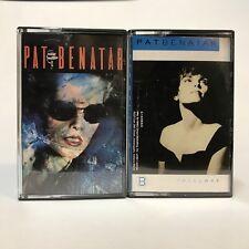Pat Benatar Cassette Tape Lot of 2 True Love Best Shots Rock Music Vintage