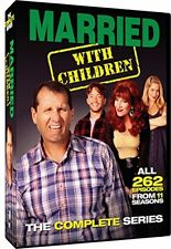 Married with Children: The Complete Series DVD Set 11 seasons 262 episodes NEW
