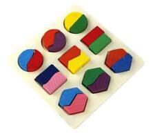 Wooden Geometric shape stacker for Preschool