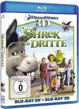 SHREK 3 - Der Dritte 3D | BLU RAY 3D + Blu Ray 2D #B29