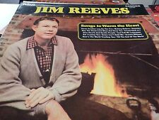 JIM REEVES SONGS TO WARM THE HEART LP 12 INCH LP RECORDS