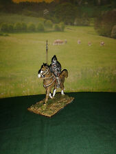 28 mm Elizabethan Cavalry 4 x Border horse, Shield + spear ( Choice of horses )