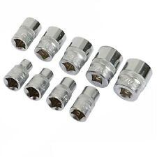 "Silverline Socket set 3/8"" Drive 6pt imperial 9pce 1/4"" - 3/4"""