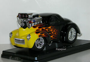 Muscle Machines Pro Drag Racing 1941 Willys Coupe 41 Limited Release 1:18