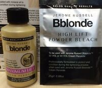 JEROME RUSSELL B BLONDE CREAM PEROXIDE AND HIGH LIFT POWDER BLEACH BOTH