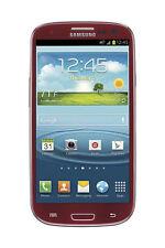 Samsung Galaxy S III GT-I9300 - 16GB - Garnet Red (Unlocked) Smartphone