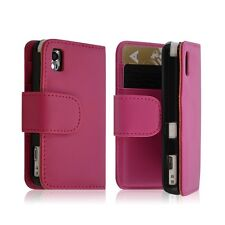 Housse coque etui Portefeuille pour Samsung s5230 Player One rose