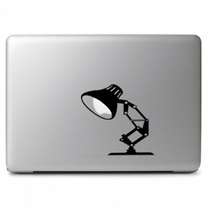 "Pixar Lamp Light Vinyl Decal Sticker for Apple Macbook 11 13 15 17"" Laptop"