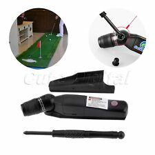 1pk Golf Putter Laser Sight Pointer Putting Training Aim Line Corrector Black