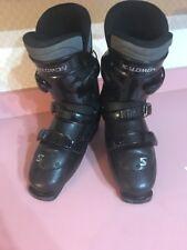 Salomon 4.0 Symbio Downhill Snow Ski Boots Black 29.0 Rare Vintage Ships N 24h