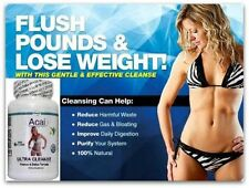 Colon Cleanser Detox Pills Bowel Flush IBS Detoxification Parasites Weight Loss