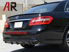 V Type CARBON FIBER Bumper REAR Diffuser For E250 E350 E550 W212 E-CLASS E63 AMG