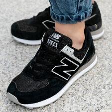 New Balance WL574 Sneaker Damen Jungs Mädchen Turnschuhe Schuhe Schwarz WL574EZ