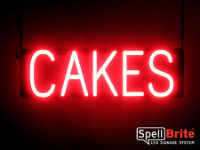 SpellBrite Ultra-Bright CAKES Sign Neon look LED performance